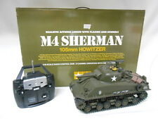 Tamiya 56014 Sherman M4 RC scala 1:16 assembled + radio control 2ch