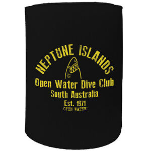Stubby Holder Neptune Islands Scuba Diving Australia Funny Novelty Birthday