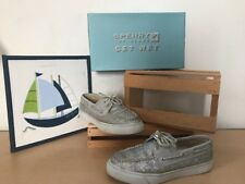 Sperry TopSiders Diver Sparkle Deck Boat Shoes Size 7M PreOwned GUC