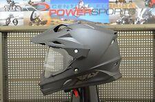 Fly Racing Trekker Dual Sport Motard Matte Black Motorcycle Helmet SIZE LARGE