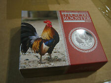 PERTH Mint 1oz Silver Proof Rooster 2017 Mint Package Case ONLY