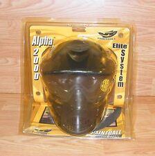 Genuine Alpha 2000 Elite Paintball Goggle System - Fog Resistant Lens **READ**