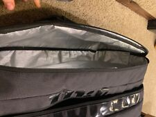 New listing wilson tennis bag 12, black, player bag matches blade 98 v7
