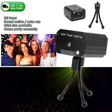 Mini LED Laser Light Beam DJ Party Music Sound Active Stage Lighting Projector