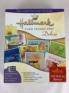Hallmark Card Studio Deluxe 2005 Greeting Card Software
