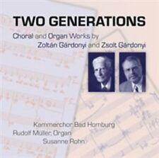TWO GENERATIONS: CHORAL AND ORGAN WORKS BY ZOLTN GRDONYI AND ZSOLT GRDONYI NE