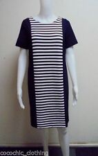 City Chic Women's Knee Length Stripes