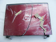 """NEW DELL G976P Red Vostro 1220 12.1"""" LCD Back Top Cover Lid With Hinges"""