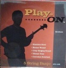 5 STRING BANJO STRINGS Play-ON MEDIUM