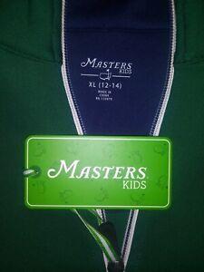 Masters Tournament Augusta National Boys XL Green Jacket 12-14 NWT