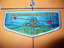 OA NetawataMASS Lodge 424,S3,1960s BRO Flap,448,Muskingum Valley Council,Ohio,OH