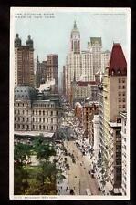 c.1908 cousins shoe advertising Broadway street New York city postcard