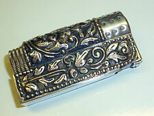 "IMCO ""TRIPLEX"" SUPER 6700 POCKET LIGHTER WITH 800 SILVER CASE - 1956 - AUSTRIA"