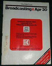 Broadcasting Magazine '84 WNEP-TV Channel 16 Newswatch Northeastern Pennsylvania
