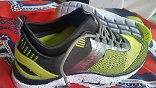 💕💕💕 JOANNE MERCER  BRONX Fabric BOUNCE BLACK/LIME SILVER 38/7 RUNNING SHOES💟