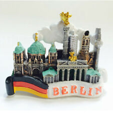 Tourist Souvenir Gift Favorite 3D Resin Fridge Magnet Relief Berlin,Germany Flag