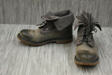 Timberland Earthkeepers Roll UP 8308A Boots - Women's Size 8.5M, Gray