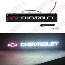 LED Logo Light Car For Chevrolet Front Grille Badge Illuminated Decal Sticker US
