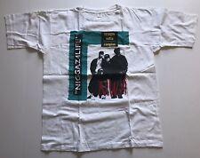 Vintage 90s NWA Dr Dre Eazy E Ice Cube Rap T Shirt White XL Tour UA Boot