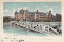 Breslau Wroclaw AK 1902 Lessingbrücke Regierungsgebäude Polen Polska 1702074