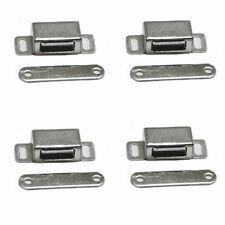 2x 38mm Edelstahl Magnet Schnäpper Türmagnet Möbelmagnet Magnetverschluß Schnapp