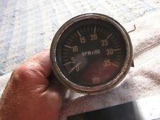 Vintage Stewart Warner 3500 Tachometer
