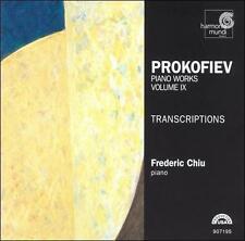 Prokofiev: Piano Works Vol. 9 - Transcriptions (CD, Sep-1999, Harmonia Mundi ...