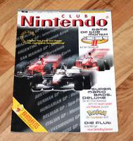 1999 Club Nintendo Magazine Duke Nukem Castlevania Mario Gex 64 Tonic Trouble