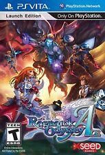 Ragnarok Odyssey Ace - First Print Launch Edition [Sony PlayStation Vita PSV]