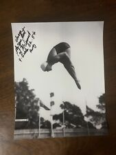 Pat McCormick Hand Signed 8X10 Photo Olympic Gold Medalist Diving