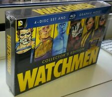 WATCHMEN: Collector's Edition Blu-ray+Lenticular Cover+Graphic Novel, 4-Disc Set