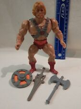 He-Man MOTU Masters Universe HE-MAN Near Complete Tight Legs Stands Holds