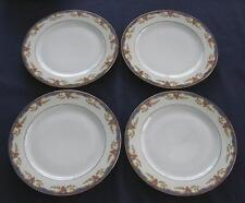 Vignaud St. Quentin – 4 SALAD PLATES - Limoges France - NICE