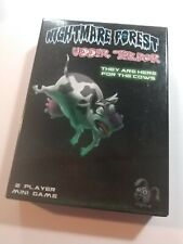 New! Solar Flare Games - Nightmare Forest Udder Terror - 2 Player Mini Card Game