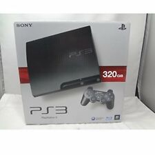 PlayStation 3 PS3 Console System 320GB Charcoal Black game Japan CECH-3000B JP