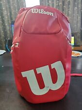 Wilson Red Countervail Backpack, Sports Bag Ltd Edition, Clean