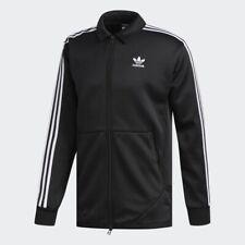 Adidas Originals Windsor Track Jacket Top Black White 3 Stripes DH3829 Men's S