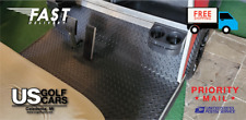 Club Car DS 1982 to Current Golf Cart Black Rubber Diamond Plate Floor Mat NEW!!