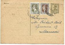 Bulgaria: 1926; Postal Stationery, Used 1931 to Manresa, Spain, VF  EB0121