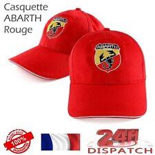 Casquette baseball cap ABARTH FIAT - ROUGE - berretto tapa kappeCasquette baseba
