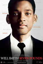 """SEVEN POUNDS Movie Poster [Licensed-New-USA] 27x40"""" Theater Size Will Smith"""