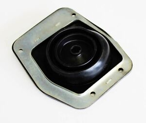 New! 1979-2004 Ford MUSTANG Lower Shift Boot Rubber with Metal Retainer bracket