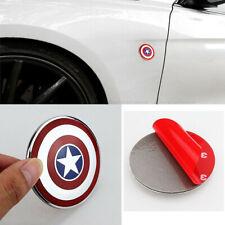 SHIELD Captain America Logo 3D Metal Auto Car Emblem Badge Bonnet Sticker Decal