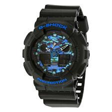 New Casio G-Shock All White Analog Digital Mens Watch GA100CB-1A