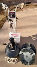 Rotovac 360i Rotary Extractor Carpet & Tile Machine w/extras