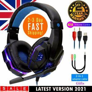 Gaming Headphones Gamer Auriculares  Audifonos Gaming Para PC 360 PS4