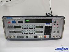 Tekelec Te 820b Pcm Frame Simulator Analyser Includes Option 06 Module