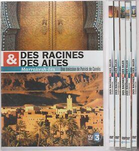 Des Racines & Des Ailes Lot De 6 Dvd Rio Vienne Pétra Sicile Saint Petersbourg