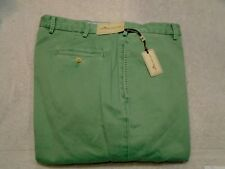 Peter Millar Raleigh Washed Twill Pima Cotton Khaki Pants NWT $125 38 x 36