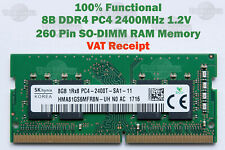 Micron Samsung 8GB DDR4 SODIMM 3200MHz PC4 1.2V LAPTOP SD RAM for Dell HP Acer +